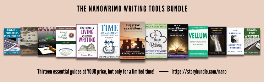 NaNoWriMo Writing Tools Bundle ad