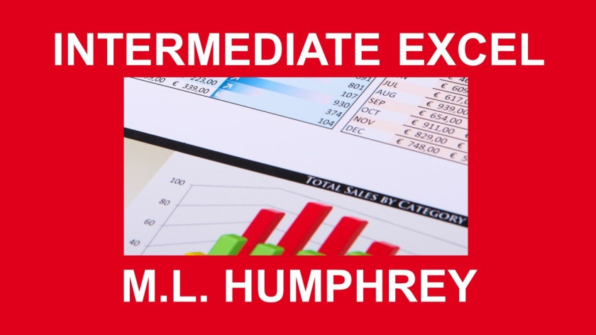 INTERMEDIATE EXCEL PRESENTATION VERSION