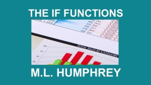 THE IF FUNCTIONS