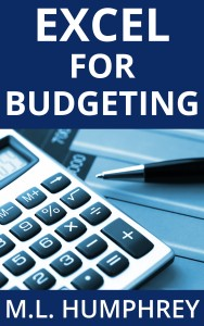 Excel for Budgeting open sans