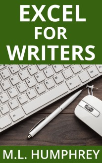 Excel for Writers open sans