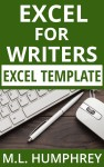 Excel for Writers excel template